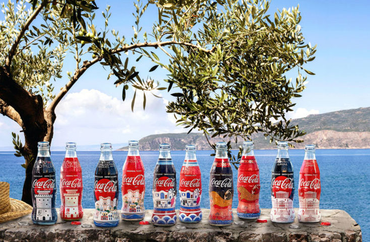 Οι συλλεκτικές συσκευασίες της Coca Cola.