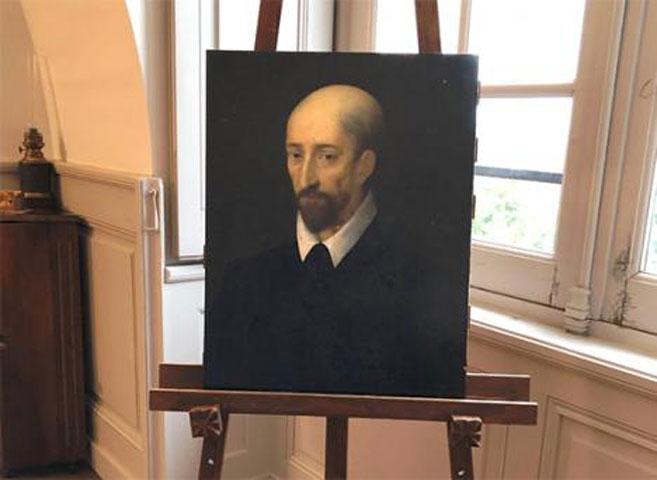 Το πορτρέτο που υποτίθεται ότι απεικονίζει τον Μακιαβέλι και φιλοτεχνήθηκε από τον Λεονάρντο ντα Βίντσι. Φωτ.: © Château de Valençay.