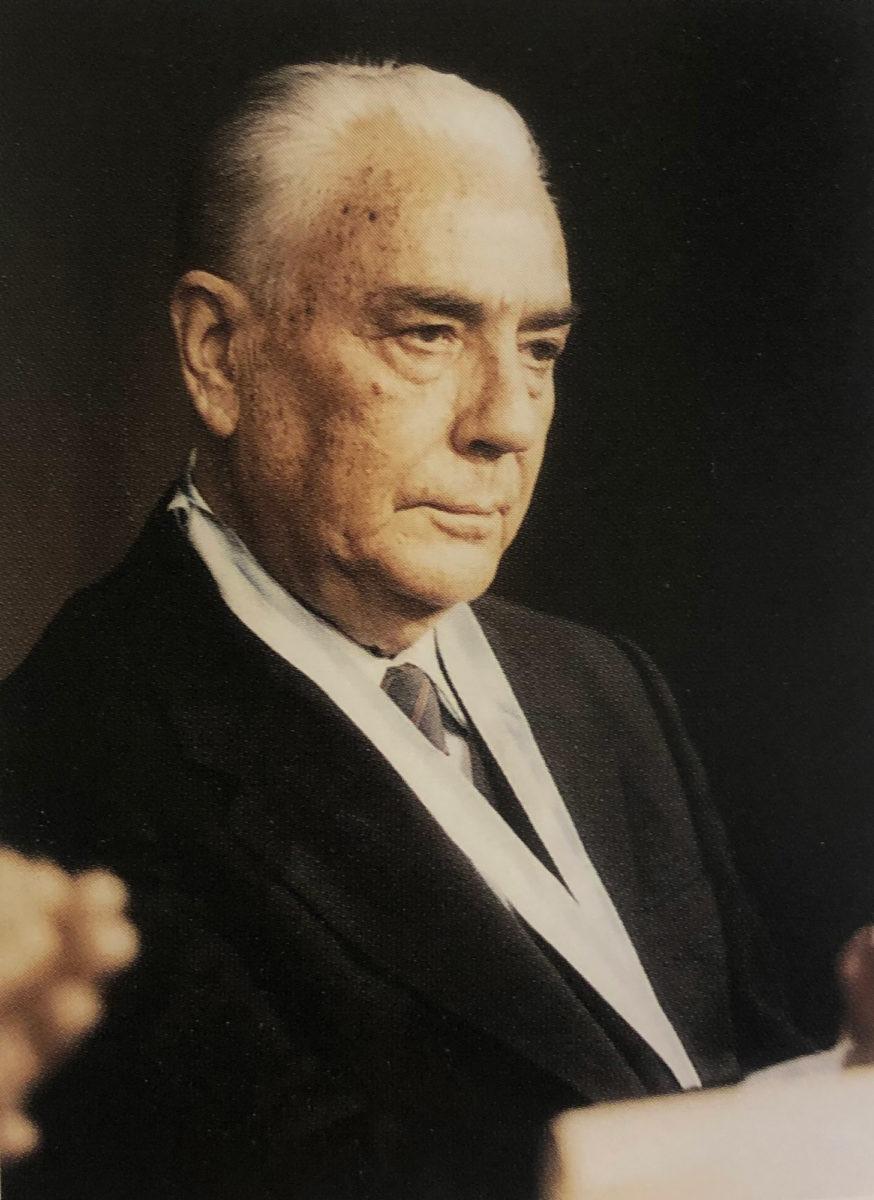 Ο Γεώργιος Ι. Κατσίγρας.