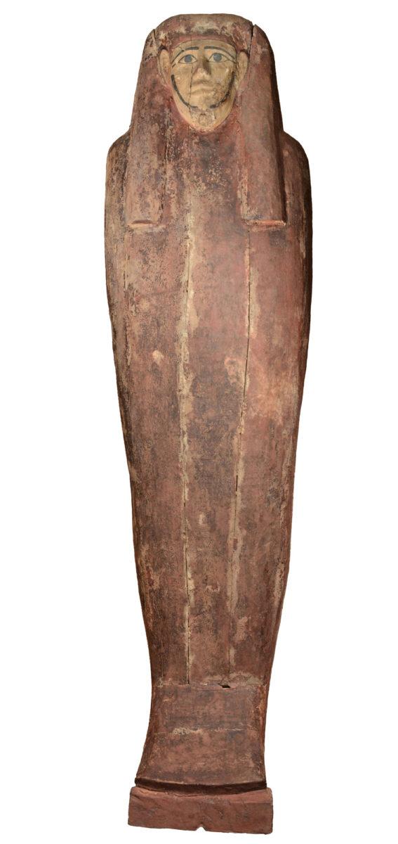 Η σαρκοφάγος του Σηχέμ (Sekhem), Πρώιμης-Μέσης Πτολεμαϊκής περιόδου (3ος-2ος αι. π.Χ.), ΕΑΜ Αιγ. 3343 © ΥΠΠΟΑ/ΕΑΜ, φωτ.: Ελ.Α. Γαλανόπουλος.