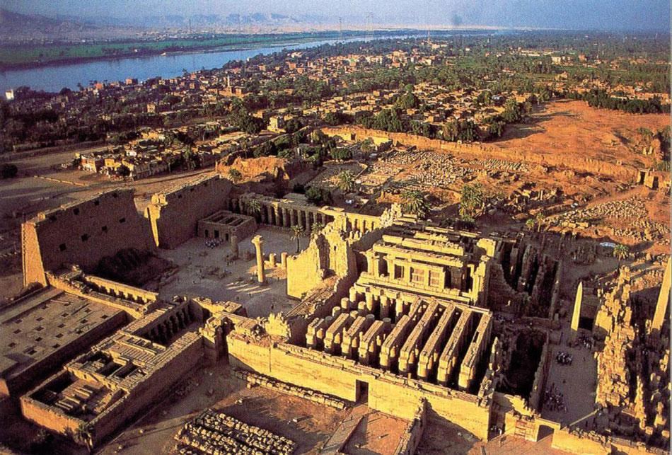 Ναός του Καρνάκ. Νέο Βασίλειο, περίοδος XVIII και XIX Δυναστείας.