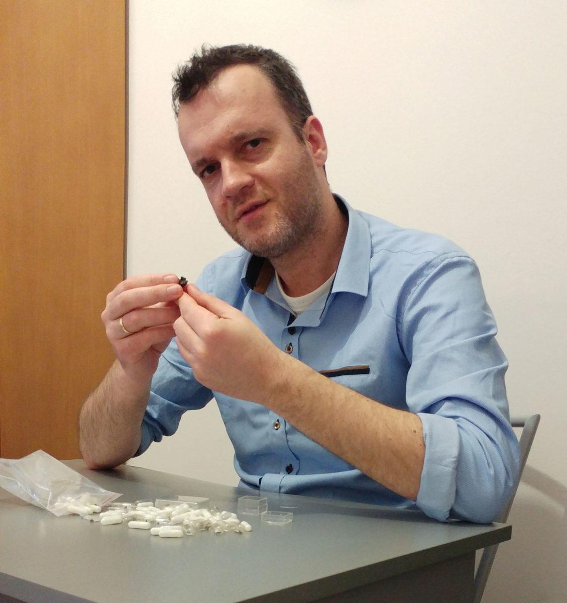 Ο παλαιοντολόγος δρ Γιώργος Γεωργαλής.