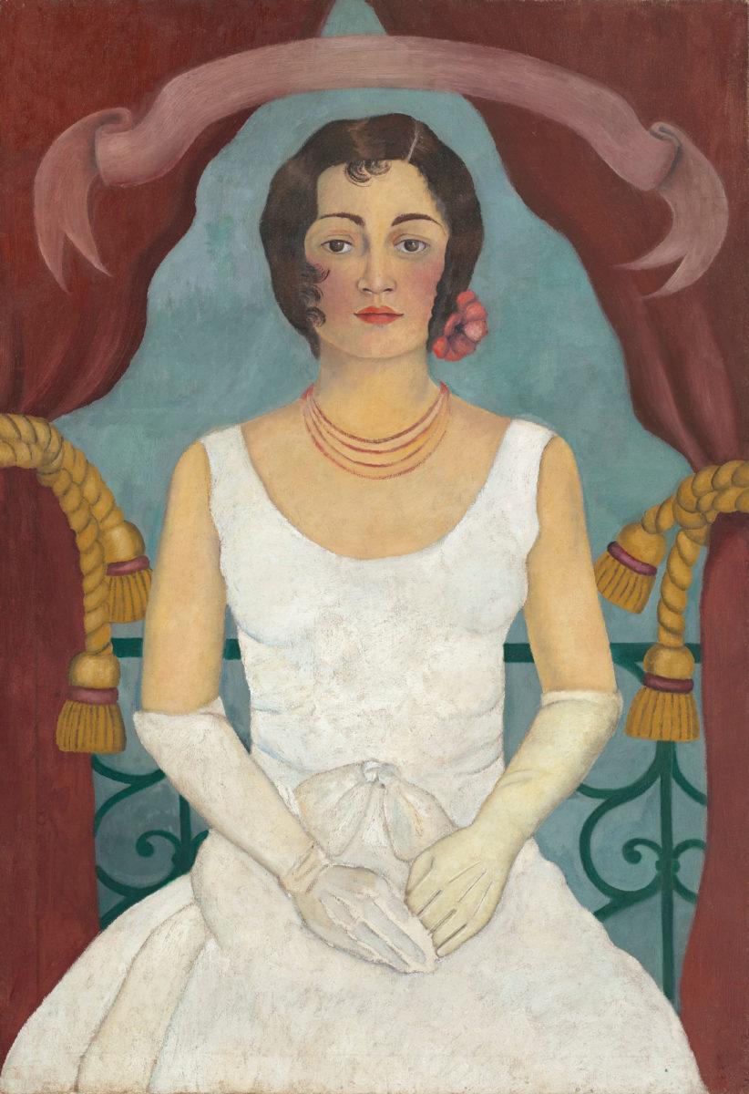 Φρίντα Κάλο, «Πορτρέτο κυρίας στα λευκά», 1929 (φωτ.: Christie's).