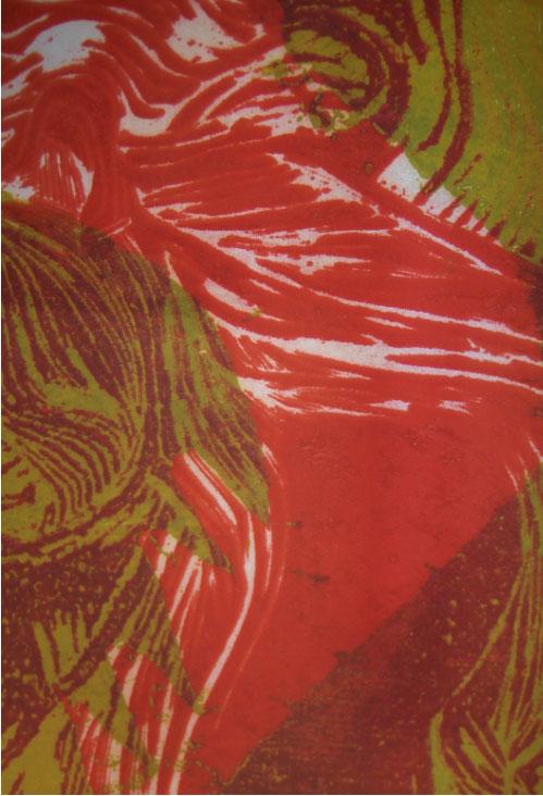 Έργο της Μαρίας Πατσή από την έκθεση «Αρχαιόμορφες παραλλαγές» (© Μαρία Πατσή, ευγενής παραχώρηση της ιδίας).