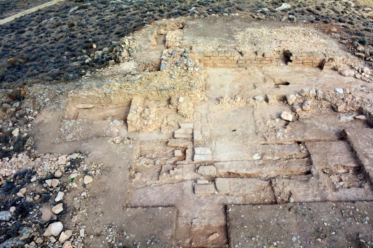 Άποψη της ανασκαφής στη θέση Τζίρπουλος (φωτ.: Τμήμα Αρχαιοτήτων Κύπρου).