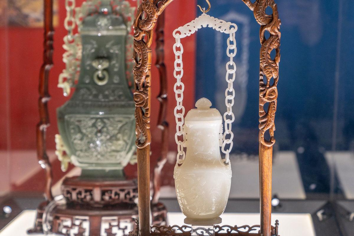 Άποψη της θεματικής ενότητας  «Μεγαλείο και Πολυτέλεια». © Βυζαντινό και Χριστιανικό Μουσείο.
