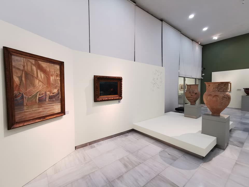 Άποψη της έκθεσης «Σημείο Συνάντησης» στο Αρχαιολογικό Μουσείο Καβάλας (φωτ.: ΑΠΕ-ΜΠΕ).