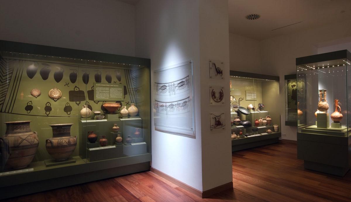 Άποψη της Συλλογής Λητώς και Κωστάκη Σεβέρη. ©Λεβέντειο Δημοτικό Μουσείο Λευκωσίας.