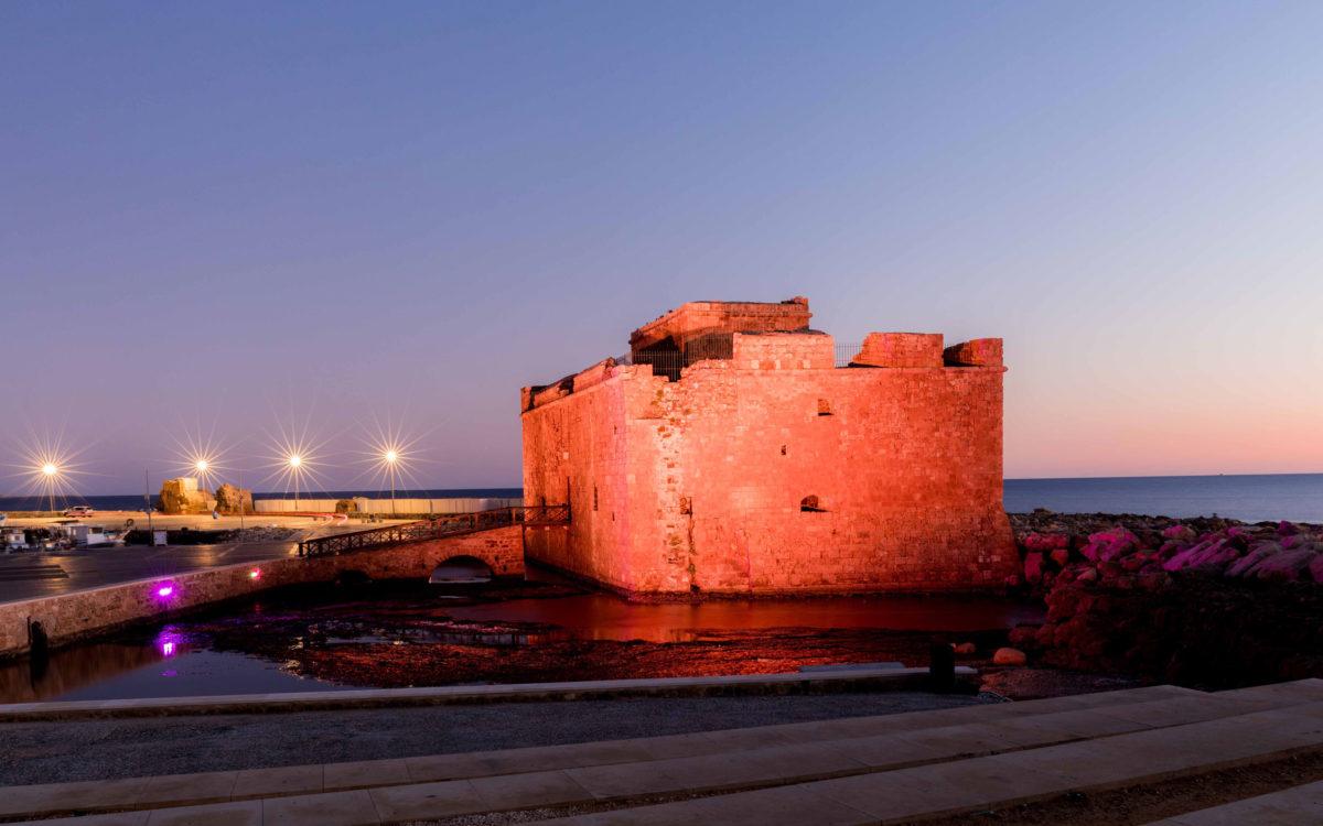 Το Κάστρο της Πάφου (φωτ.: Τμήμα Αρχαιοτήτων Κύπρου).
