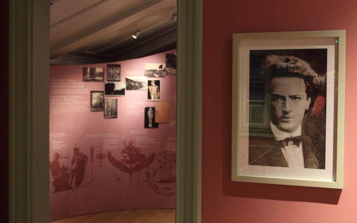 Στο Μουσείο Άγγελου Σικελιανού (φωτ.: Μουσείο Άγγελου Σικελιανού).