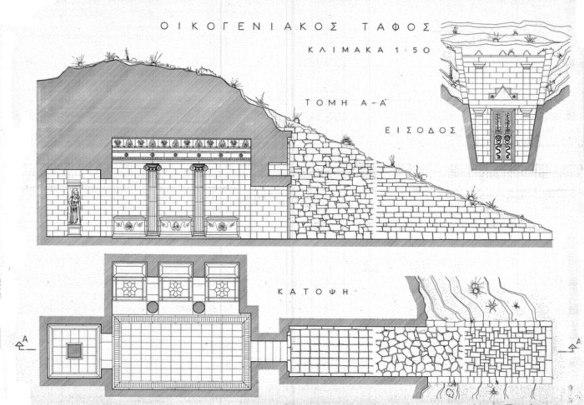 Μαθήματα Αρχαιολογικού Σχεδίου στο Κέντρο Σπουδών Σχεδίου Ζαχαράκη.