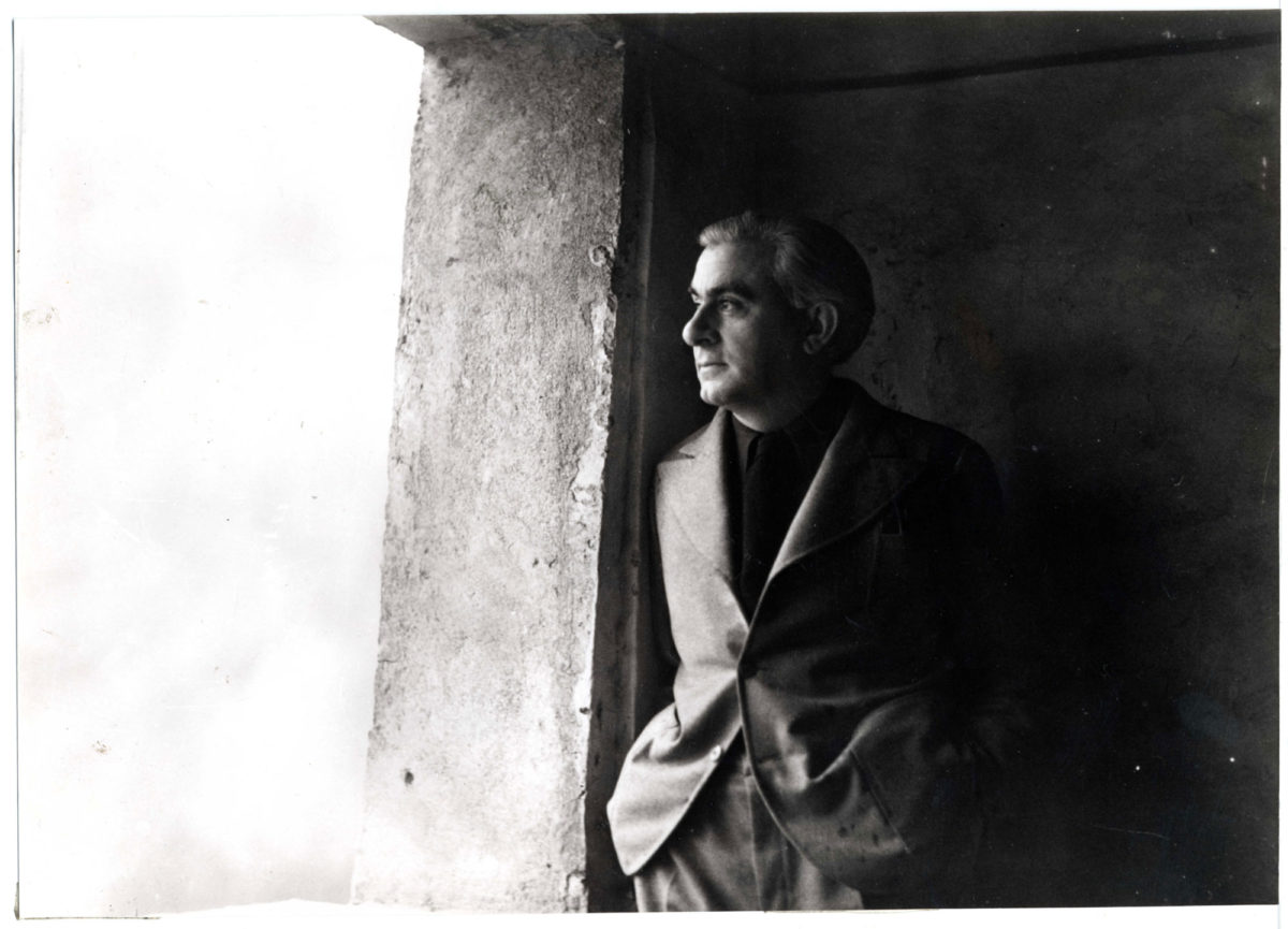 Ο Christian Zervos το 1933. Φωτογραφία αγνώστου. Ευγενική παραχώρηση Christian Derouet, Musée Zervos, Vézelay.