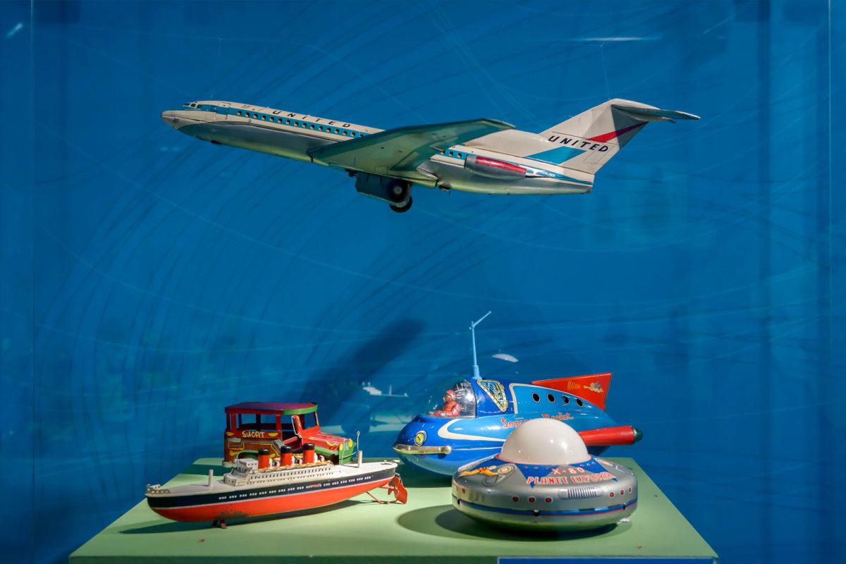 Από την έκθεση «Του Κόσμου τα Παιχνίδια!» στον Διεθνή Αερολιμένα Αθηνών «Ελευθέριος Βενιζέλος» (φωτ.: Ηλίας Γεωργουλέας).