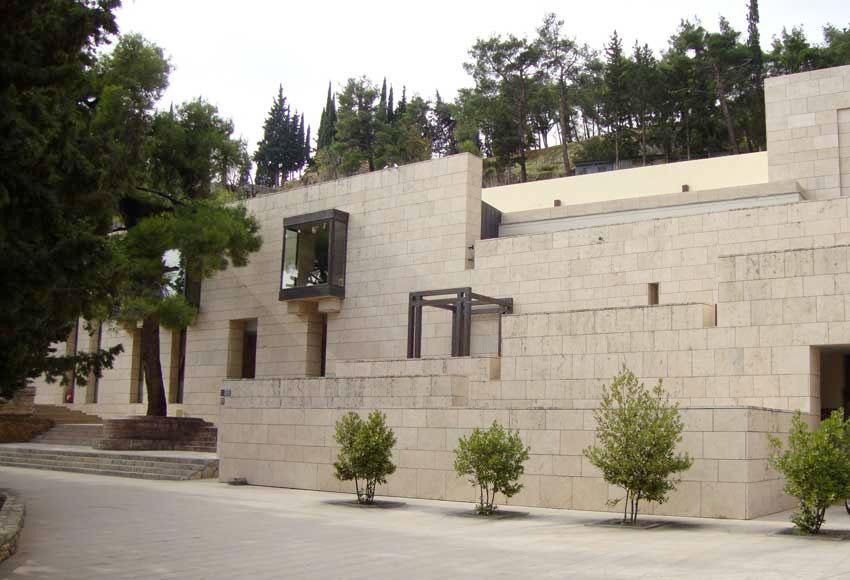 Άποψη του Αρχαιολογικού Μουσείου Δελφών.