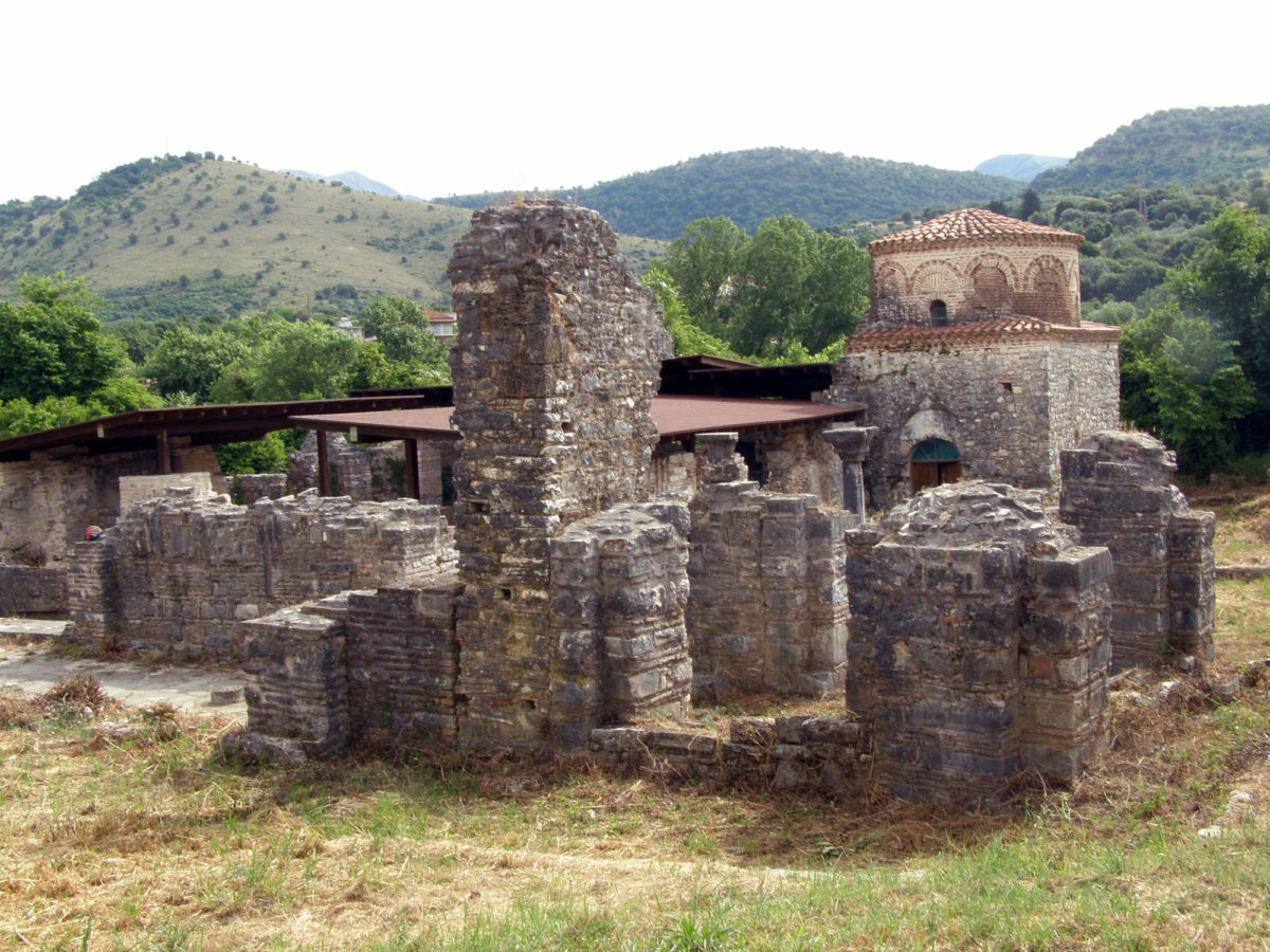 Η βυζαντινή μονή της Παντάνασσας (φωτ.: Εφορεία Αρχαιοτήτων Άρτας).