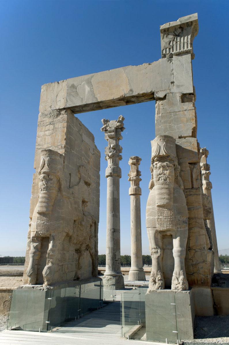Περσέπολη, η Πύλη των Εθνών (φωτ.: Βικιπαίδεια).