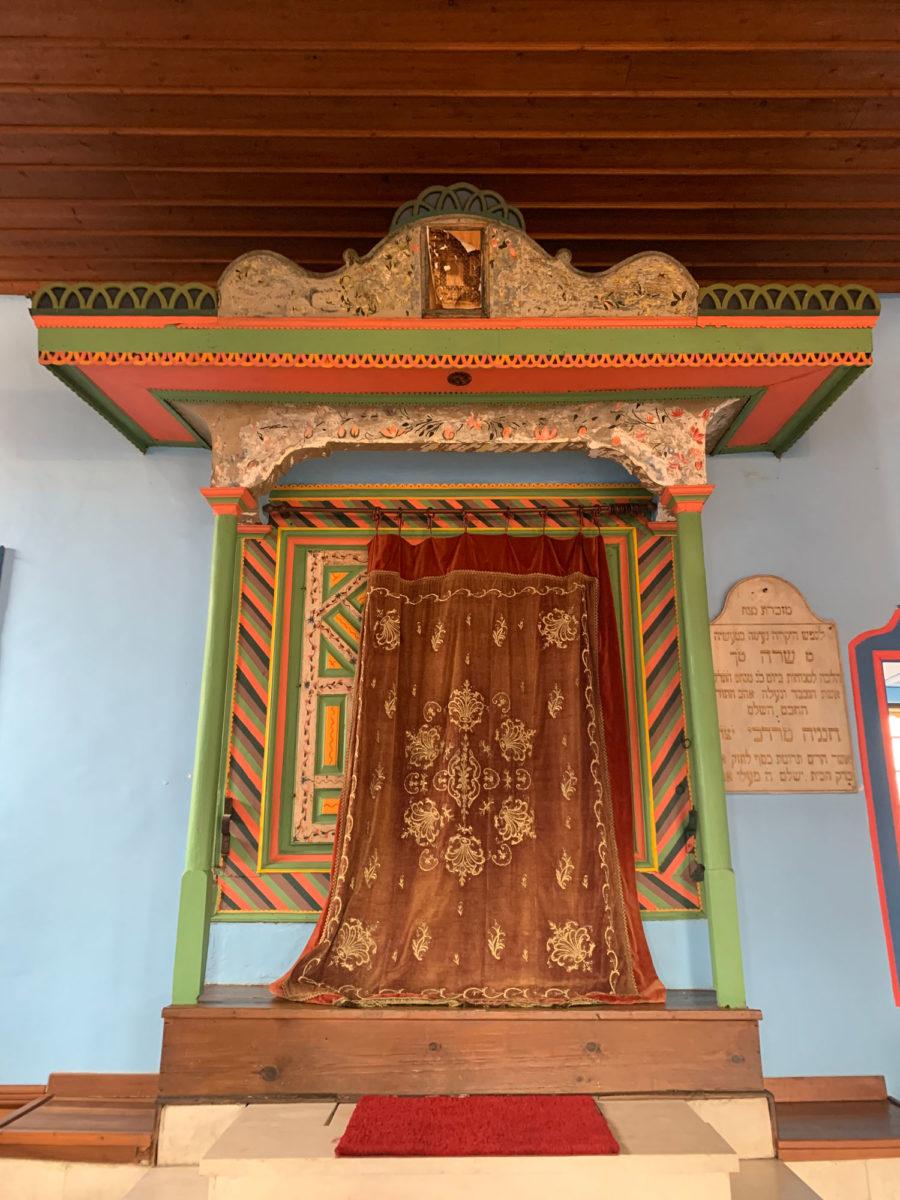Στη συναγωγή της Βέροιας (φωτ.: ΑΠΕ-ΜΠΕ).