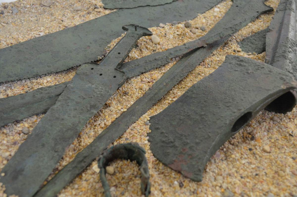 Ο «Θησαυρός των Ανδρονιάνων». Φωτογραφικό Αρχείο Εθνικού Αρχαιολογικού Μουσείου.