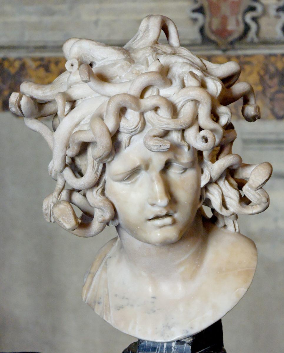 Μπερνίνι, «Προτομή της Μέδουσας», 1630. Ρώμη, Μουσεία Καπιτωλίου (φωτ.: Wikimedia Commons).