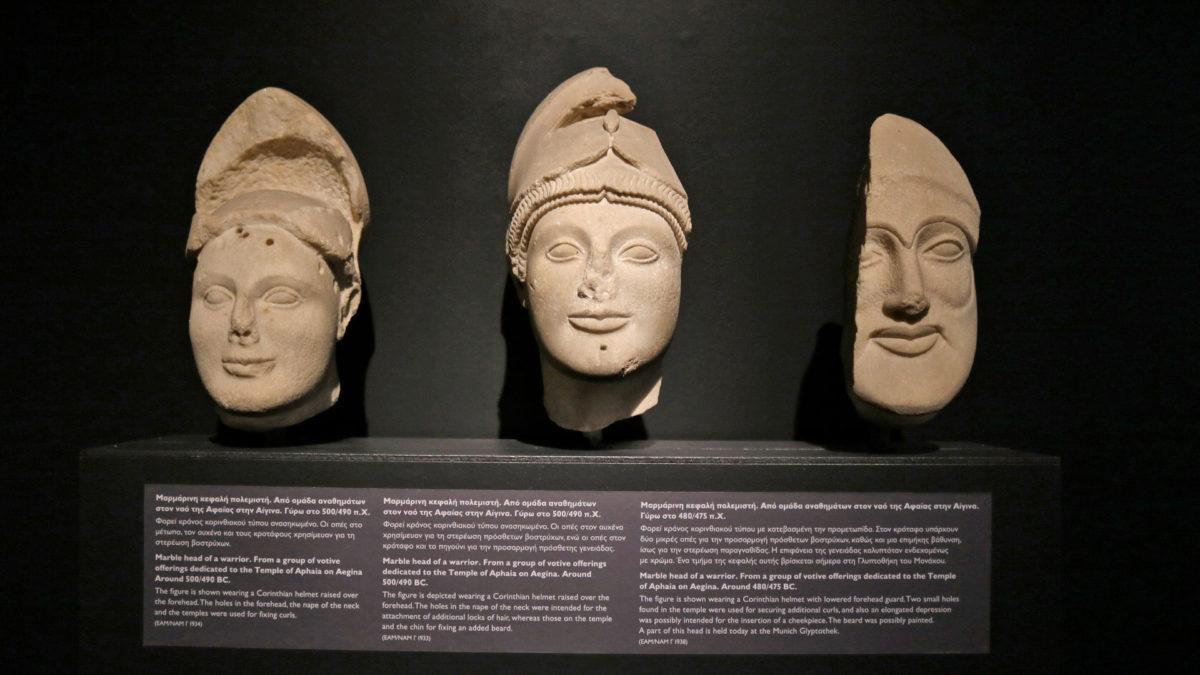 Εγκαινιάστηκε η νέα έκθεση του Εθνικού Αρχαιολογικού Μουσείου
