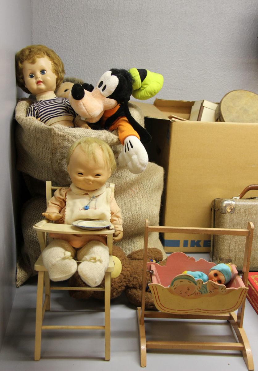 Μουσείο Παιδικής Ηλικίας «Σταθμός». Λεπτομέρεια προθήκης.
