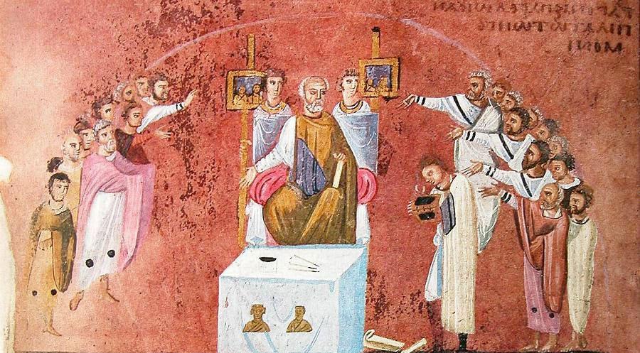 Σειρά διαλέξεων της δρος Παρής Καλαμαρά με θέμα το βυζαντινό ένδυμα.