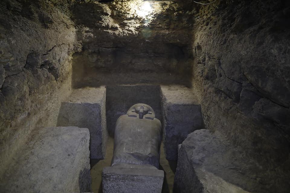Ευρήματα από την ανασκαφή στη θέση Γορέιθα (φωτ.: Υπουργείο Τουρισμού και Αρχαιοτήτων της Αιγύπτου).