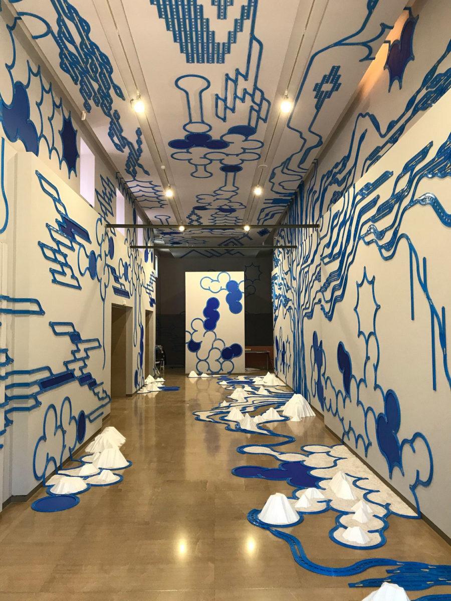 Γιασουχίκο Χαγιάσι, «Παραμοντελιστικό γκράφιτι, 2012», 2020 (© 2020 ΥΠΠΟΑ/ΒΧΜ/ΤΑΠ).