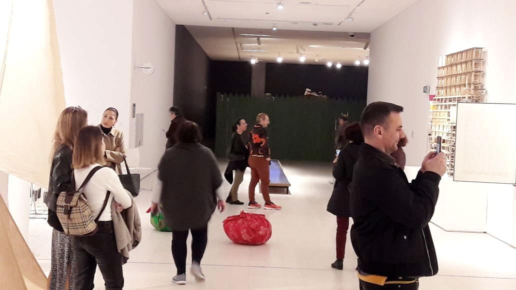 Στις αίθουσες της Μόνιμης Συλλογής παρουσιάζονται 172 έργα Ελλήνων και ξένων καλλιτεχνών (φωτ.: ΥΠΠΟΑ).