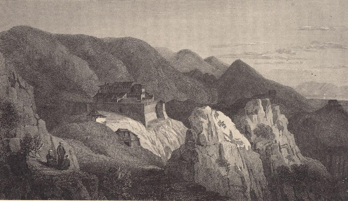 Σοβαρές ζημιές στο κάστρο της Κιάφας