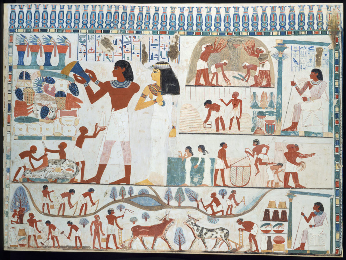 Η μπύρα ως σύμβολο κοινωνικής θέσης στην αρχαία Αίγυπτο
