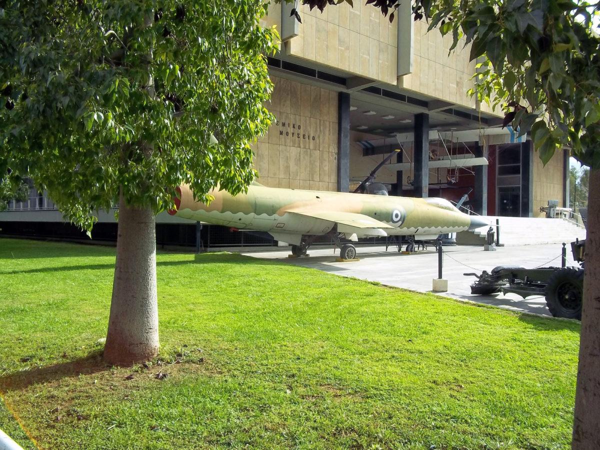 Το Πολεμικό Μουσείο Αθηνών (φωτ.: Βικιπαίδεια).