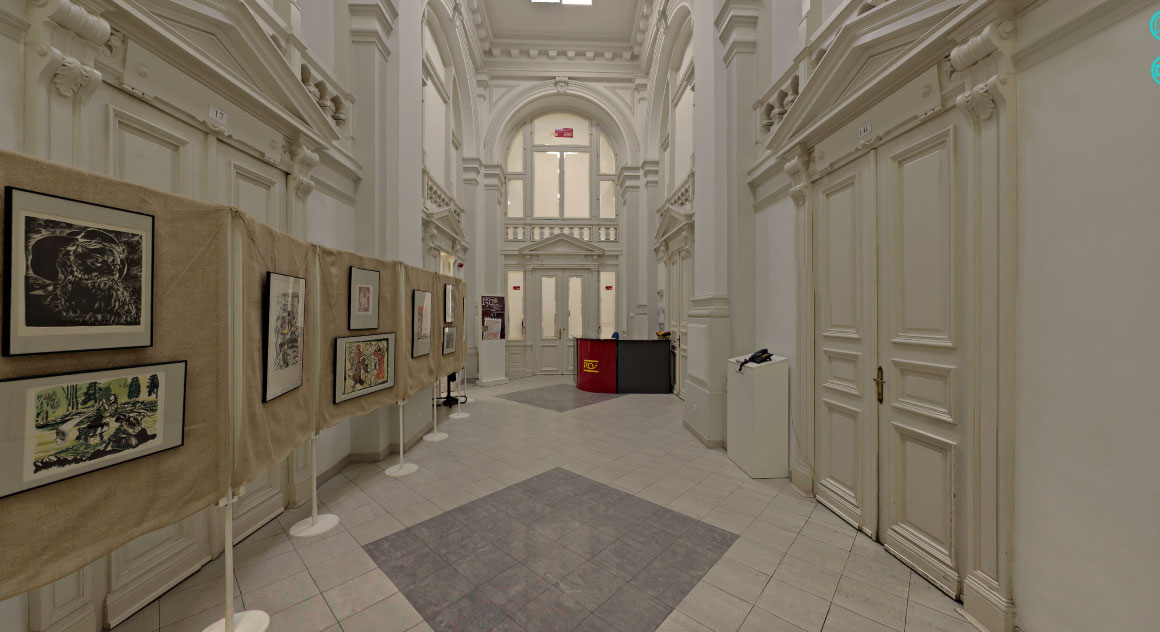 Εικονική περιήγηση στο Φιλοτελικό Μουσείο της Ρουμανίας.