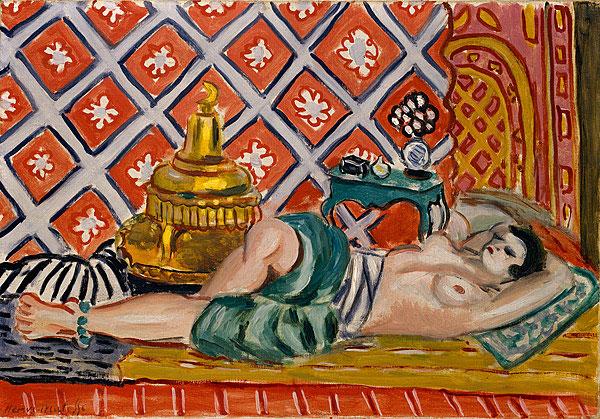 Henri Matisse, «Odalisque couchée»,1926. Μητροπολιτικό Μουσείο Τέχνης της Νέας Υόρκης © Succession H. Matisse/Copyright Agency.