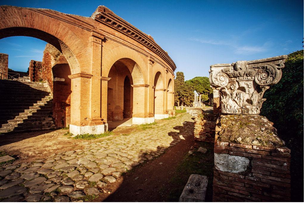 Ostia Antica, στη Ρώμη (φωτ.: ec.europa.eu).