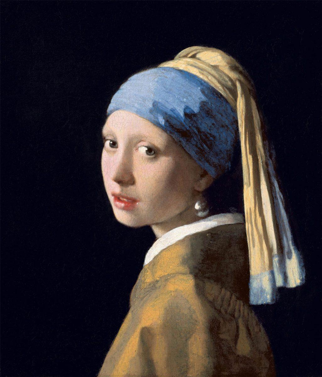 Γιοχάνες Βερμέερ, «Το κορίτσι με το μαργαριταρένιο σκουλαρίκι», 1665, Χάγη, Mauritshuis.