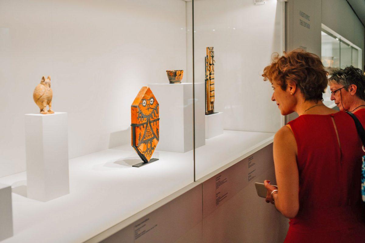 Άποψη της έκθεσης «Πικάσο και Αρχαιότητα. Γραμμή και πηλός» που πραγματοποίησε το Μουσείο Κυκλαδικής Τέχνης. Φωτ.: Πάρις Ταβιτιάν.