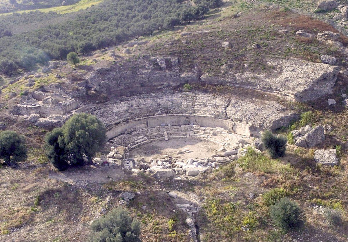 Το Μεγάλο Θέατρο της Γόρτυνας (φωτ.: ΥΠΠΟΑ).