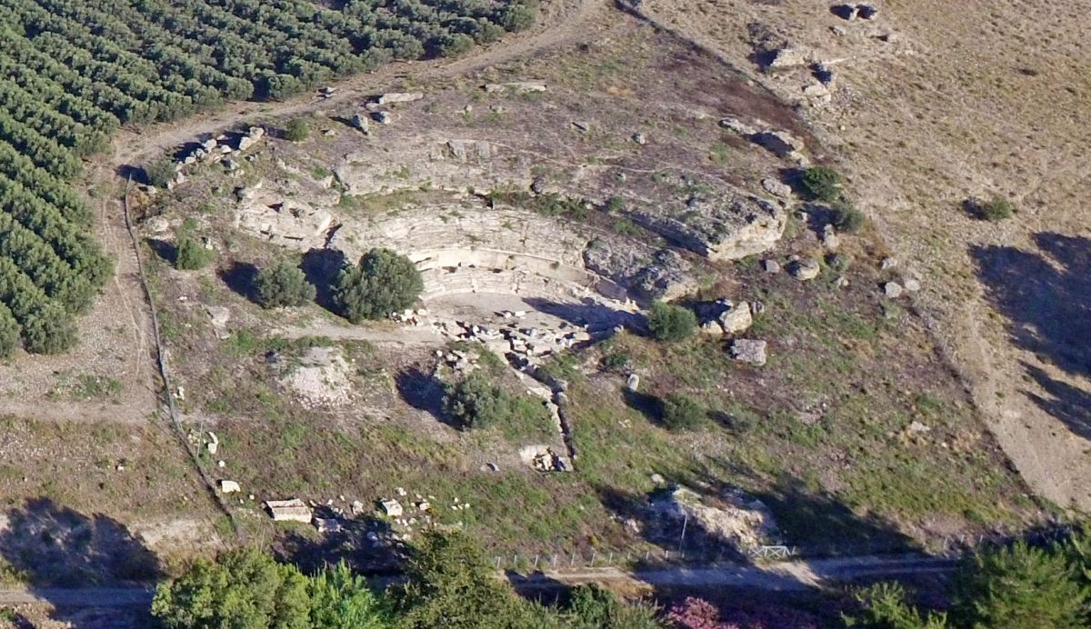 Αποκάλυψη και αποκατάσταση του Μεγάλου Θεάτρου της Γόρτυνας