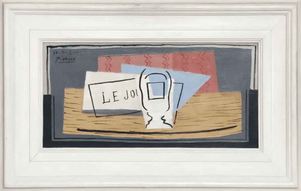 Πάμπλο Πικάσο, «Nature Morte», 1921. © Succession Picasso, Paris, 2019.