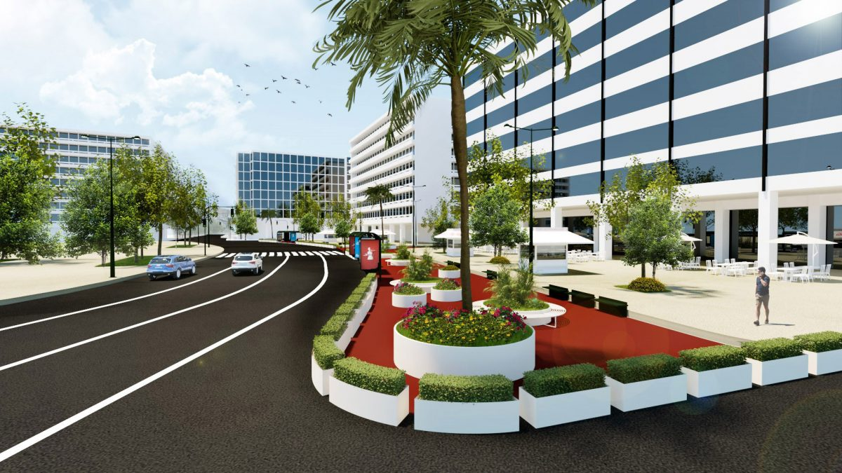 Για την πλατεία Συντάγματος, το σχέδιο περιλαμβάνει τη διαπλάτυνση των πεζοδρομίων της οδού Φιλελλήνων στο ύψος της πλατείας, για τη δημιουργία ενός νέου κοινόχρηστου χώρου στην καρδιά της πόλης (φωτ.: Δήμος Αθηναίων).
