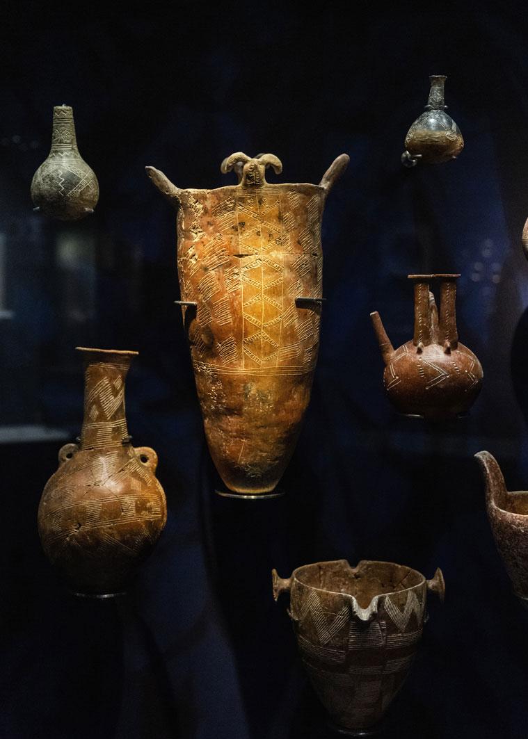 Γενική άποψη, Κυπριακή Συλλογή. Φωτ.: Πάρις Ταβιτιάν © Μουσείο Κυκλαδικής Τέχνης.