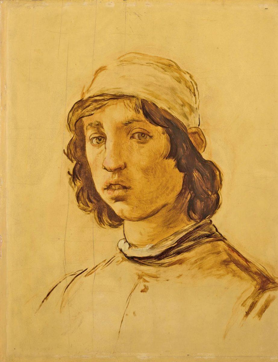 Εντουάρ Μανέ, «Κεφάλι νεαρού άνδρα», 1853.