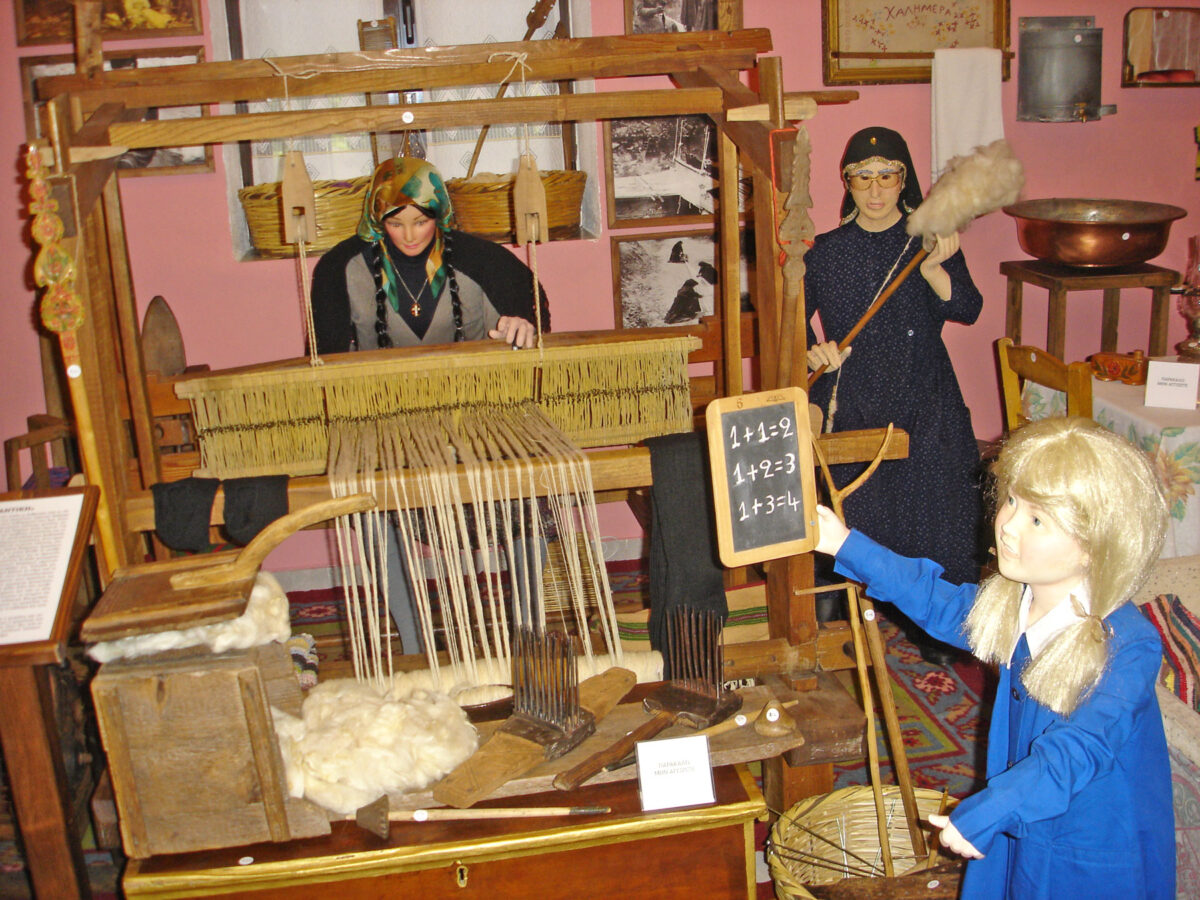 Στο Ιστορικό-Νομισματικό-Λαογραφικό Μουσείο του Αγίου Βησσαρίωνα (φωτ.: Νίκος Μαρδάνης / ΑΠΕ-ΜΠΕ).