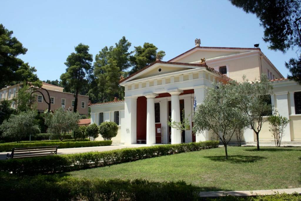 Το Μουσείο της Ιστορίας των Ολυμπιακών Αγώνων στην Αρχαιότητα, στην Ολυμπία (φωτ.: ΥΠΠΟΑ).