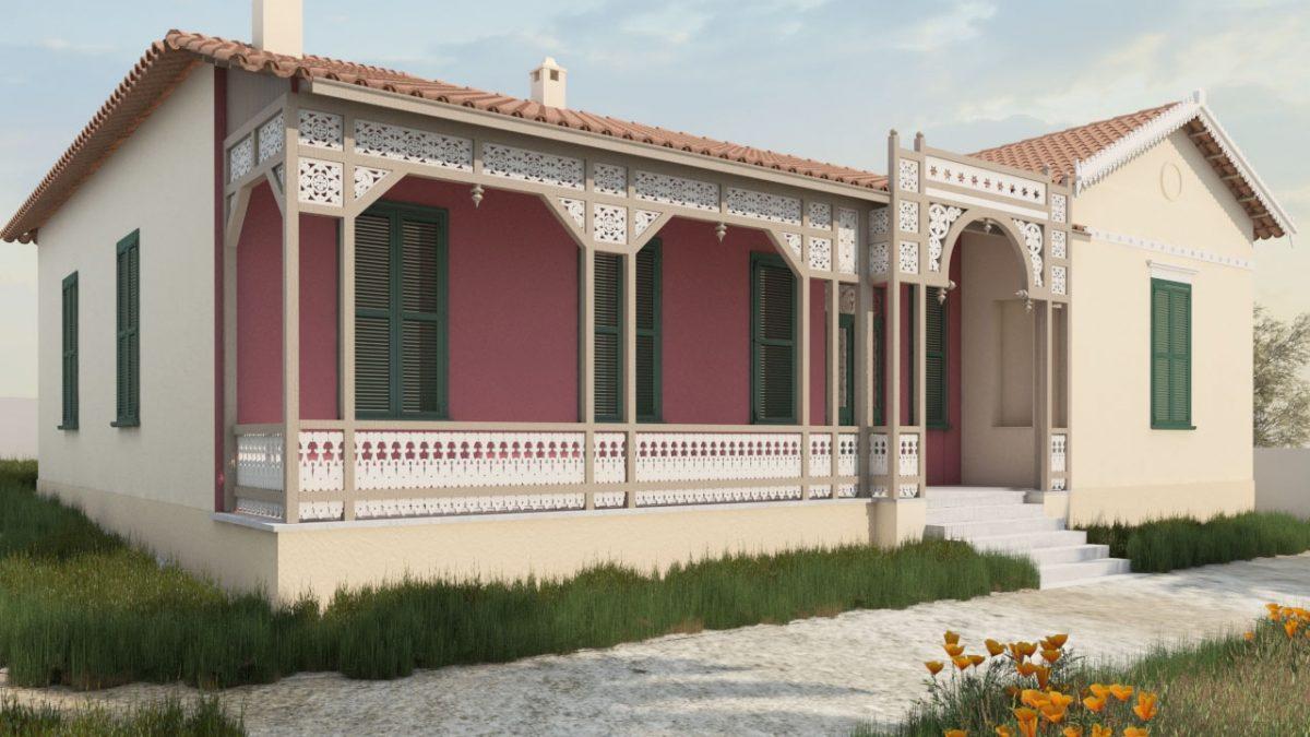 Φωτορεαλιστική απεικόνιση αρχιτεκτονικής μελέτης Μ. Μαγνήσαλη (φωτ.: Μ. Μαγνήσαλη).