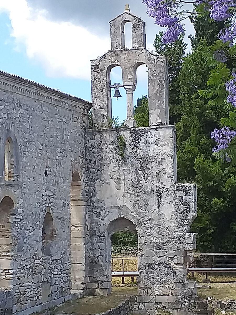 Άποψη της Παλαιοχριστιανικής Βασιλικής της Παλαιόπολης, στην Κέρκυρα (φωτ.: ΑΠΕ-ΜΠΕ).