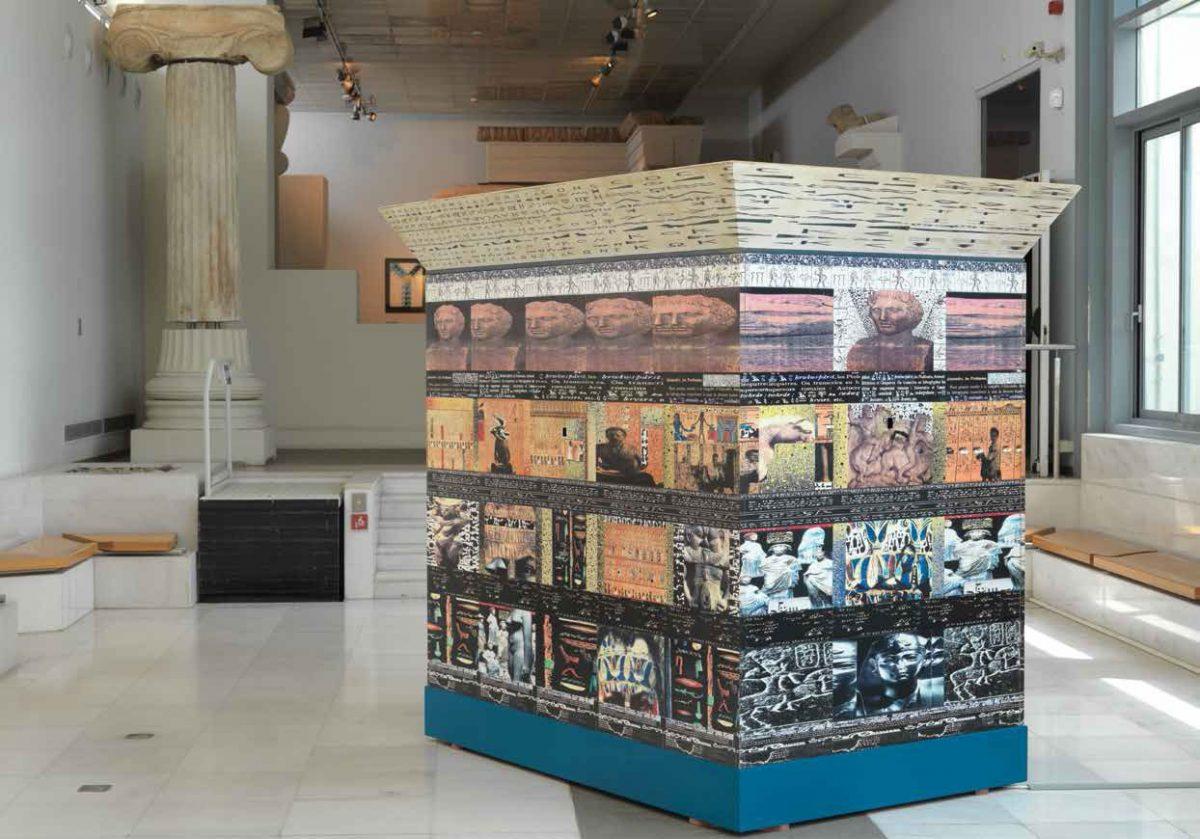 Έργο του Κωνσταντίνου Ξενάκη στο Αρχαιολογικό Μουσείο Θεσσαλονίκης, στο πλαίσιο της έκθεσης «HEL(L)AS! Παντού!».