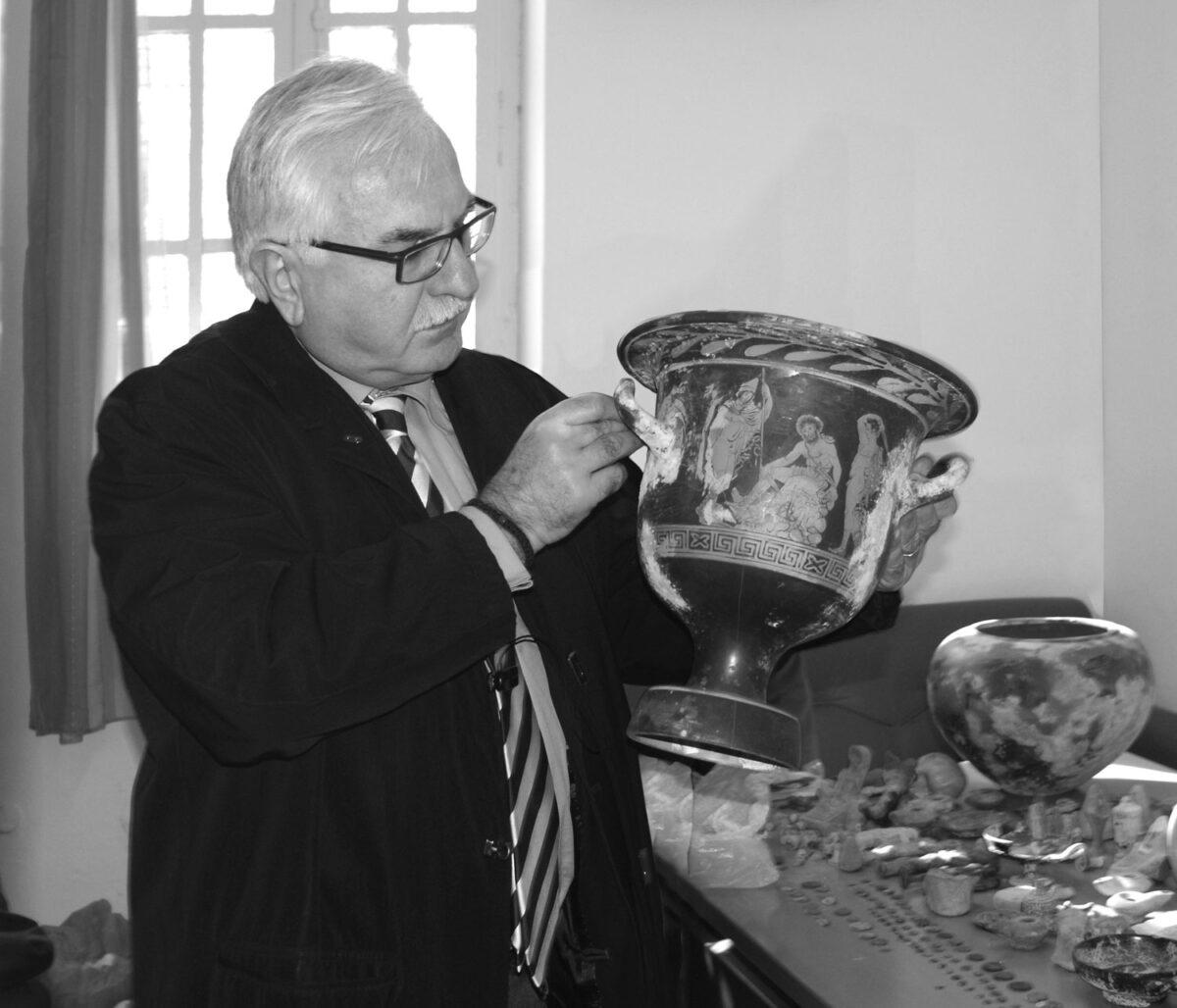 Ο Γιώργος Τσούκαλης.