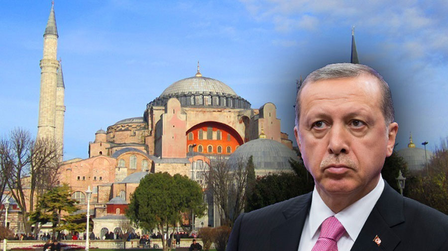Το τουρκικό Συμβούλιο της Επικρατείας ακύρωσε κυβερνητική απόφαση του 1934 που απέδιδε στην Αγία Σοφία το καθεστώς μουσείου.